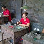 Balinese silver artists