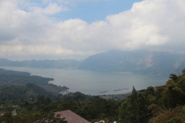 Lake Batur, drive in Central Bali
