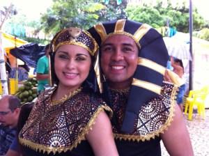 Olinda Carnival Egyptian clothing