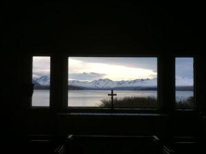 Church of the Good Shepherd lake view