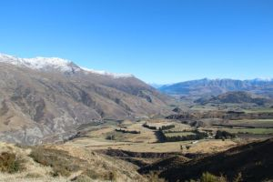 Corona Pass view to Queenstown