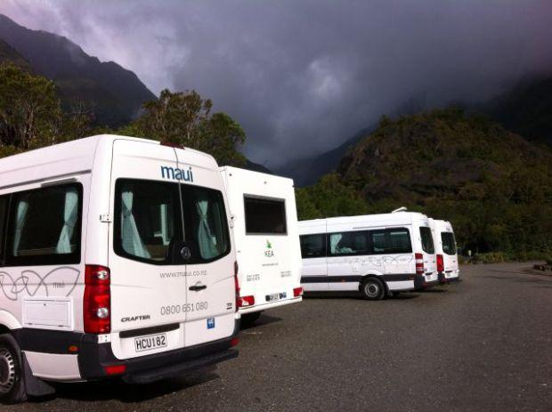 Franz Josef Glacier parking