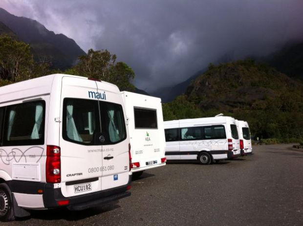 Franz Joseph Glacier parking