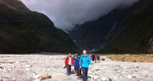 Franz Joseph Glacier walkers