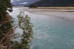 Haast River view