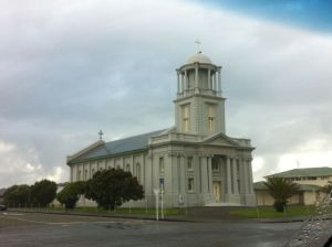 Hokitika church