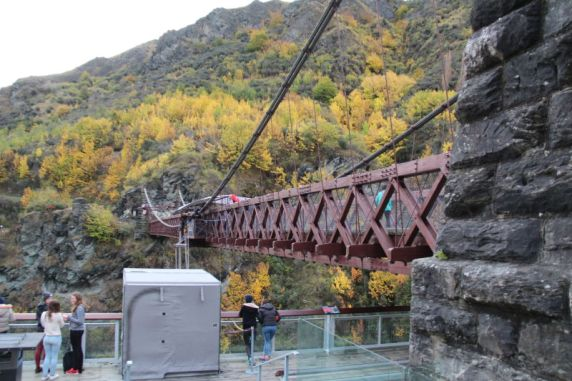 Kawarau Gorge bungy jumping bridge