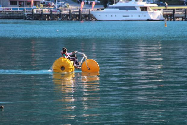 Lake Wakatipu water bike