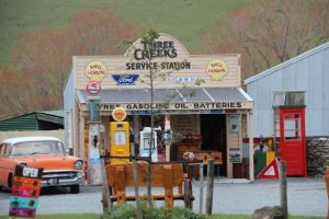 Mount Cook to Christchurch gas station