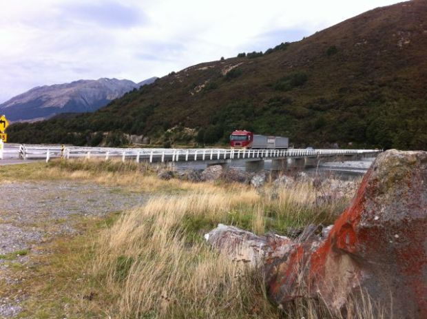 Waimakariri River bridge