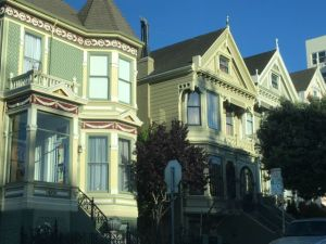 Alamo Square houses San Francisco