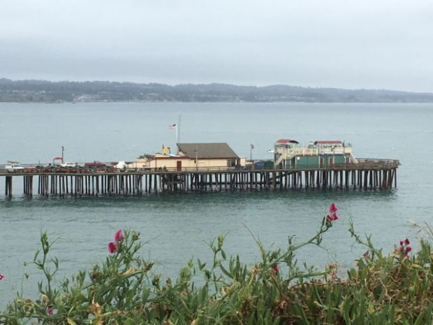 Capitola pier, coastal drive from San Francisco to Monterey