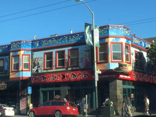 Haight Ashbury street corner