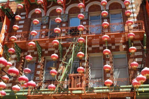 San Francisco Chinatown view