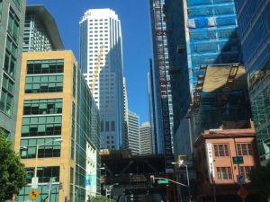 San Francisco downtown view