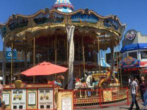 San Francisco Pier 39 carousel