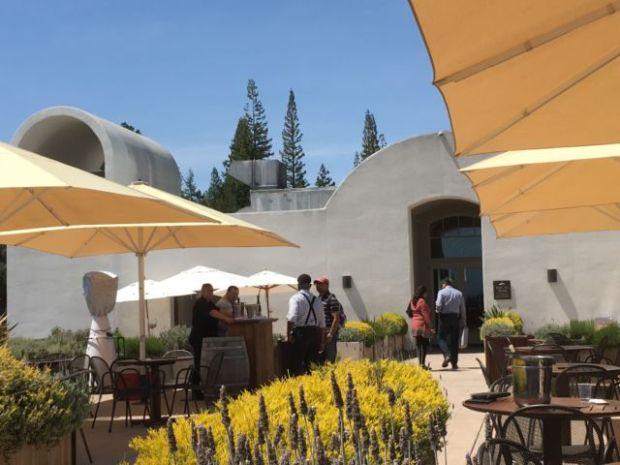 Sterling Vineyards tasting terrace