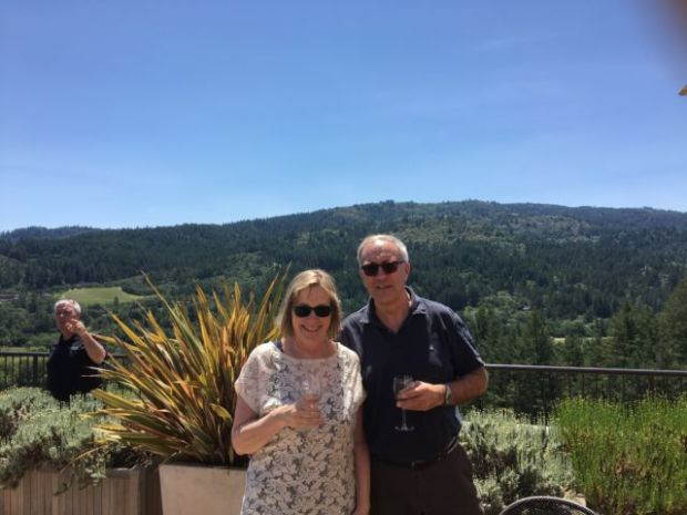 Tasting on Sterling Vineyards, Napa Valley day trip