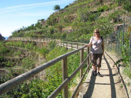 Cinque Terre Manarola trail