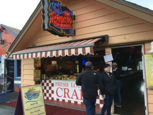 Monterey Fisherman's Wharf fish market