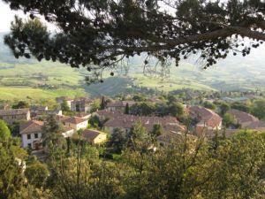 Tuscany scenic drive Volterra view