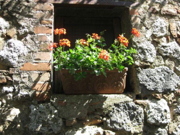 A Tuscan window