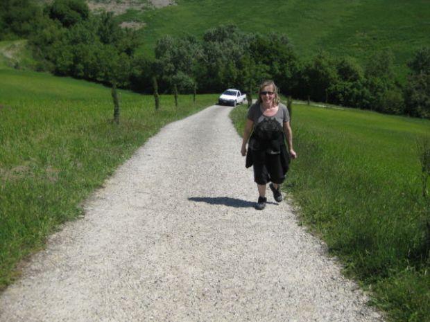 Walking in Tuscany