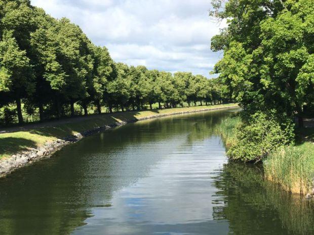 Djurgården canal view