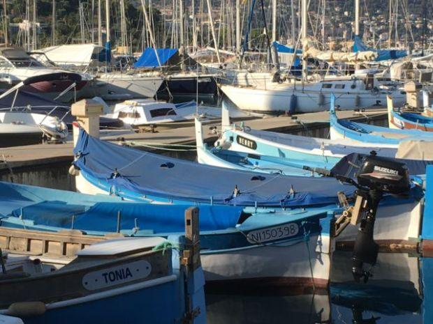 Cap-Ferrat-Saint-Jean harbor view