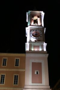 Church bell tower in Nice