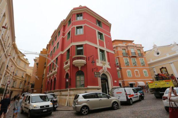 Monaco old town view