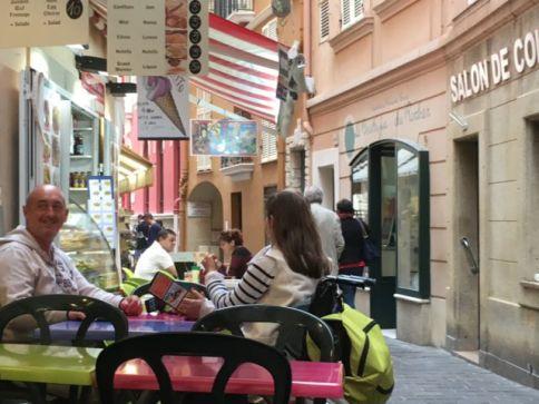 A Monaco-Ville cafe