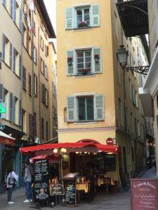 Nice Old Town street corner