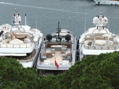 The French Riviera, Monaco yachts