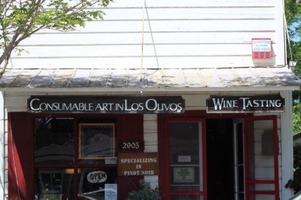 Los Olivos California tasting room