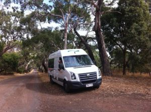 Melbourne to Sydney coastal drive with campervan