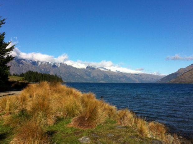 Wakatipu lake view
