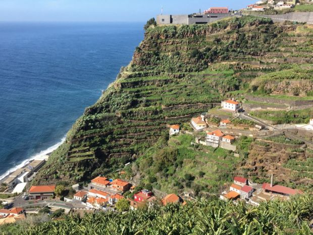 Calheta village from the hill