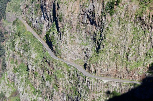 Curral das Freiras Madeira old road