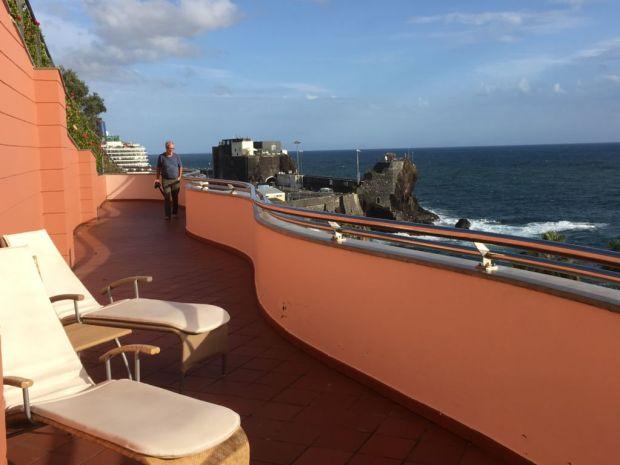 Funchal hotel balcony