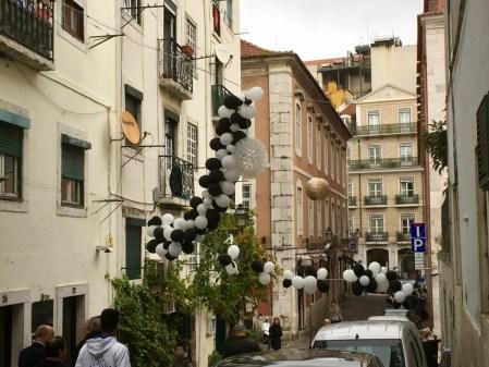 Lisbon Bairro Alto street