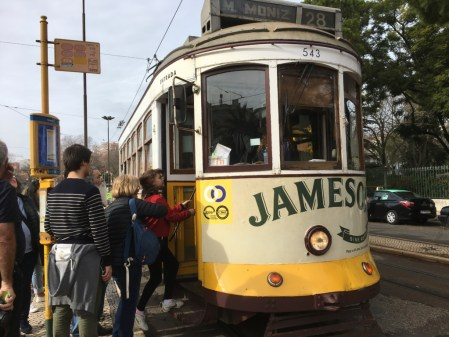 Dreaming about travel: touring Lisbon on tram 28