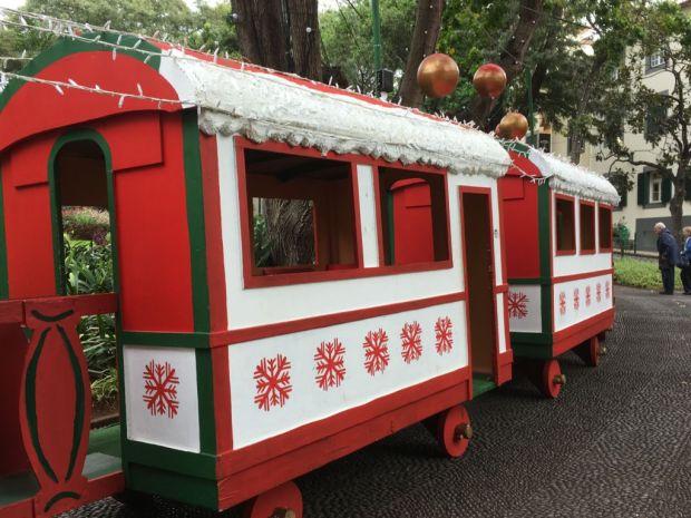 Madeira Christmas train