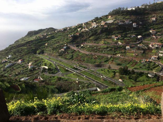 Road trip to Western Madeira, Cabo Girao to Calheta