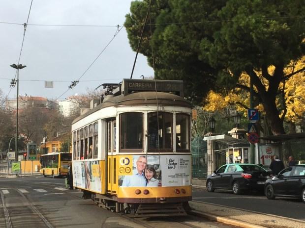 Touring Lisbon on tram 28 : Bairro Alto