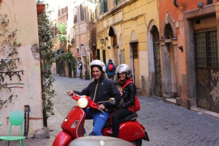 A Rome Scooter