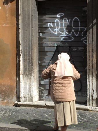 A Vatican nun