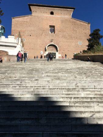 Aracoeli staircase
