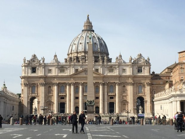 Top 10 sights in Rome Basilica San Pietro