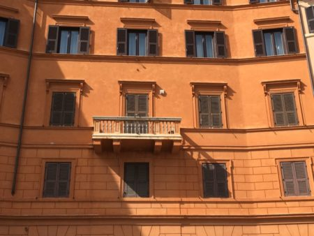 Piazza Navona townhouse, Rome